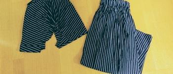 【洋服リメイク】GUで買ったワンピースをロングスカートに