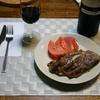 冷凍肉からそのままステーキを焼く