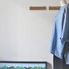ブルーシャンブレーのスキッパーシャツ③