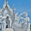 <ホワイト>「ワット ローンクン(Wat Rong Khun)」~ホワイトテンプルと呼ばれている純白の世界が広がる寺院!!