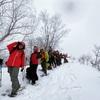 【東海】スノーシュートレッキングツアー@大日ヶ岳 無事終了しました!byもっちー