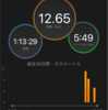 【12月23日ラン】セット練Rペース