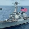 *台湾海峡に米艦船派遣 大陸では日本人がスパイとして裁かれる