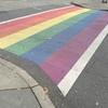 虹の横断歩道