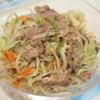 ラム肉野菜炒め