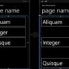 ListBoxで各項目の間隔をあけて選択できない領域を作る
