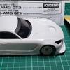 【Mini-Z】メルセデス AMG GT3 ホワイトボディ[MZN198]の製作  ~ボディフィッティングをやってみた~