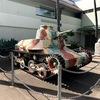 外から見るなら無料! ハワイ陸軍博物館前に止まっている戦車達!