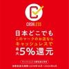 【キャッシュレス・ポイント還元事業】5%還元についてのお知らせ