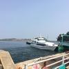 愛知の離島篠島で海水浴!