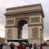 パリの凱旋門に行ってきた