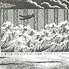 エドワード・ゴーリーの「狂爛怒涛あるいは、ブラックドール騒動」に挑戦!そして4コマ「席をゆずる」