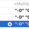 Xcode の Other Swift Flag で -D STAGING を指定したのに #if STAGING が有効にならなかった