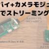 Raspberry Pi で遊ぶ  - ストリーミング配信 -