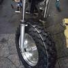 #バイク屋の日常 #ヤマハ #TW200 #ファットタイヤ #ディッシュホイール