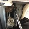 浜松市で室外機の中にできたハチの巣を駆除してきました