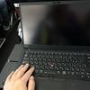 JALの太平洋横断路線エコノミークラスで使うThinkPad X1 Carbon