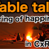 第47回 CxRワークショップ Table talk~sharing of happiness~