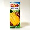 Doleパイナップル100%を飲みながら美味しさの秘密を探る