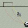 日本対コロンビアでのフリーキックを図で説明してみた。