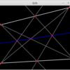 パッポスの定理の図示
