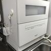 賃貸の狭いキッチン【据え置き型食洗機はどこに置く?】