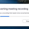 【macOS】zoomで録画失敗時に生成されるzoomファイルを動画ファイルに変換する方法