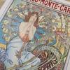 ミュシャの塗り絵「モナコ・モンテカルロ」作品と同じように塗ってみた