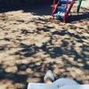 公園でSNS講座の準備