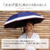 トリコロールデザイン かわず張り 晴雨兼用ショート傘 | シノワズリーモダン