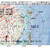 2017年10月18日 11時52分 岩手県沖でM3.0の地震
