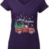 Charming Merry Christmas Snoopy Driving Christmas Tree Truck shirt