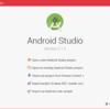Android Studioでアプリ用のプロジェクトを作成する