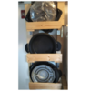 【DIY】見せる収納 ホットプレート置きを作ってみた