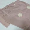 【帯揚げ】ついでに買ったピンクグレーの絞りの帯揚げ