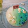 海のヨーグルトゼリーケーキ
