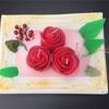 蜜蝋をつかったバラのフォトフレームを母へ作りました