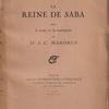 J.-C.MARDRUS『LA REINE DE SABA』(J・C・マルドリュス『シバの女王』)