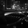 難波橋の夜は静かだった
