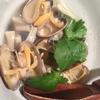 下松市(くだまつし)の笑酎屋 ぶにせで食べた広島県産のあさりの酒蒸し!