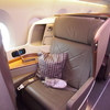 【搭乗記】シンガポール航空ビジネスクラス テンション上がるA350! HND-SIN SQ619