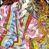 「唐紅(からくれない)」色鉛筆&鉛筆オリジナル平安イラスト完成:東京タラレバ娘シーズン2