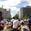 かんかん照りで始まって、雷雨のフィナーレになった北海道マラソン