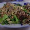 幸運な病のレシピ( 1124 )昼 :お肉たっぷりの野菜炒め