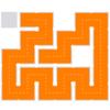 """【攻略】パズルゲームの""""Fill""""の攻略を載せてみる expertのLevel2の51~60"""