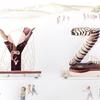 水彩画「Parade Yak-Zebra」