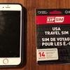 """アメリカに行くならSIMフリースマホに""""ZIP SIM""""を!日本で購入可能で、セットアップも楽々。UBERも活用できますよ!"""