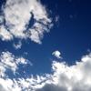 空が青いだけでちょっとうれしい。