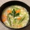 久しぶりに味噌汁の野菜の量を量ってみた。