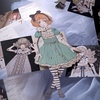 Alice_paper doll: small, pretty things